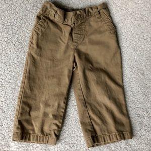 Cherokee 18m Khaki Pants